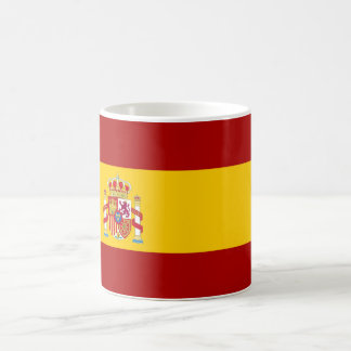 Spain flag quality coffee mug