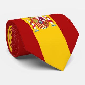 Spain flag quality tie
