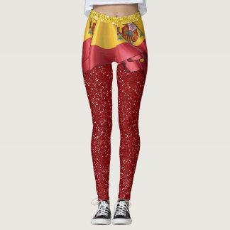 Spain Flag Skirt ILLUSION Fashion Leggings