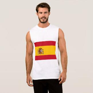 Spain Flag Sleeveless Shirt