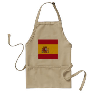 Spain Flag Standard Apron