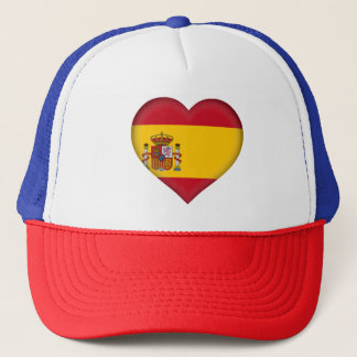 Spain Flag Trucker Hat
