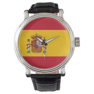 Spain Flag Watch