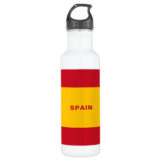 Spain Flag Water Bottle
