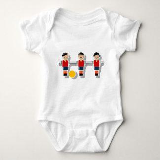 Spain foosball baby bodysuit