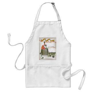 spain football coach standard apron