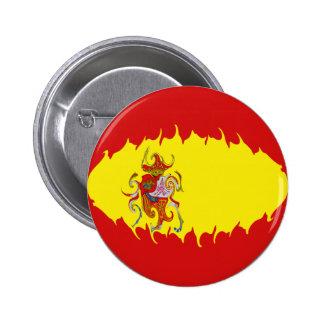 Spain Gnarly Flag Button