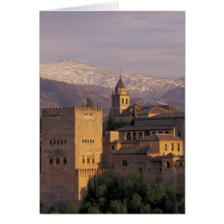 Spain, Granada, Andalucia The Alhambra, 2 Card