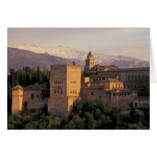 Spain, Granada, Andalucia The Alhambra, Card