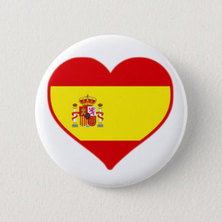 Spain Love 2 Inch Round Button