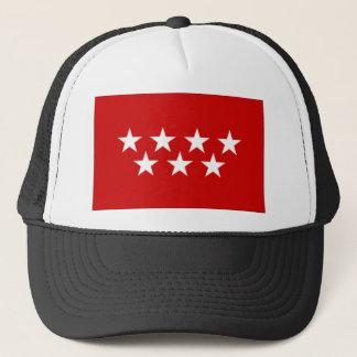 Spain Madrid Flag Trucker Hat