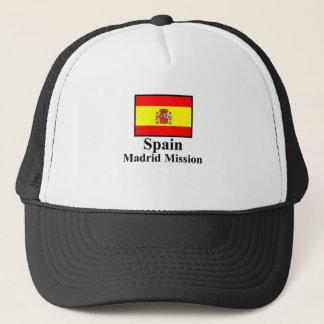 Spain Madrid Mission Hat