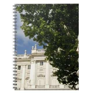 Spain, Madrid. Royal Palace. Notebooks