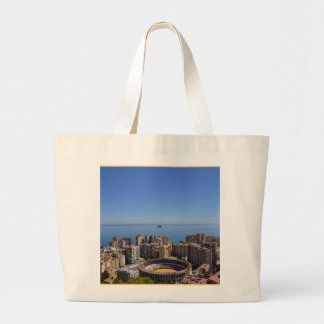 SPAIN: Malaga's Plaza de Toros canvas tote bag