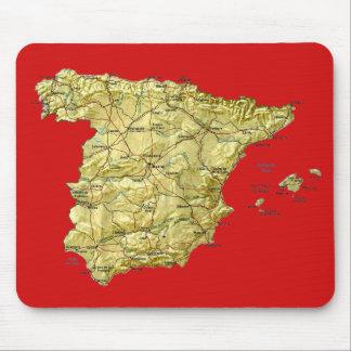 Spain Map Mousepad