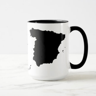 Spain Map Mug