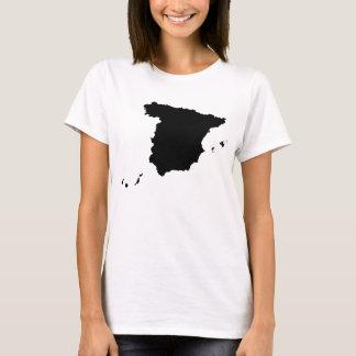 Spain Map T-Shirt