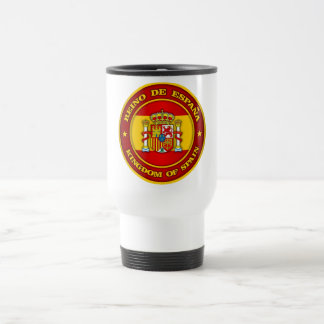 Spain Medallion Travel Mug