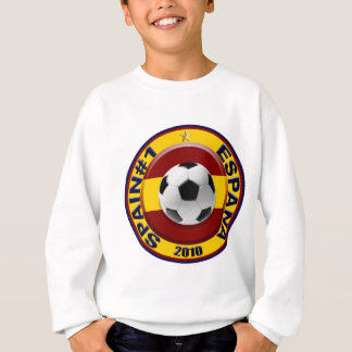 Spain number 1 2010 Soccer Gift Sweatshirt