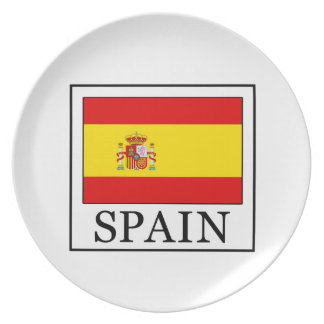 Spain Party Plate