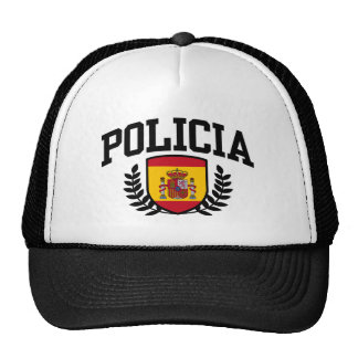 Spain Policia Trucker Hat