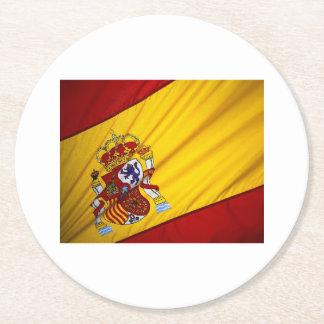 SPAIN ROUND PAPER COASTER