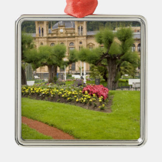 Spain, San Sebastian. Popular seaside resort, Metal Ornament
