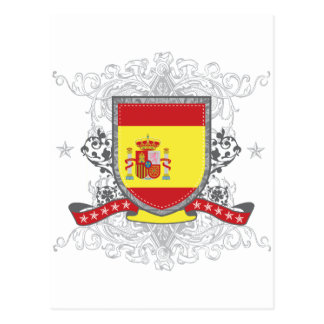 Spain Shield Postcard