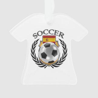 Spain Soccer 2016 Fan Gear Ornament