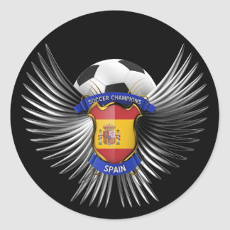 Spain Soccer Champions Sticker