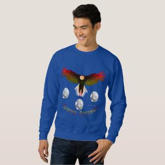 Spain Soccer Eagle Men's Sweatshirt