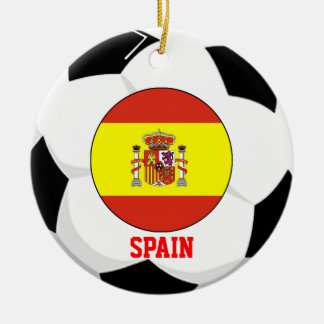 Spain Soccer Fan Ornament 2010 World Cup Champ