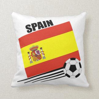 Spain - Soccer Team Throw Pillow