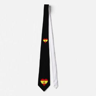 Spain Spanish Flag Tie