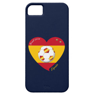 "Spain Spanish Football Soccer Team SOCCER ""SPAIN "" iPhone 5 Covers"