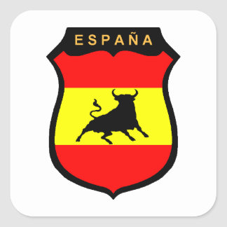 Spain Square Sticker
