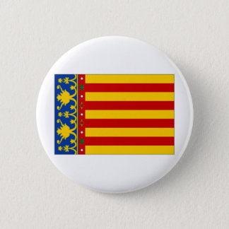Spain Valencia Flag 2 Inch Round Button