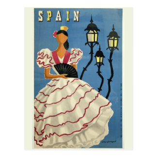 SPAIN Vintage Travel postcard