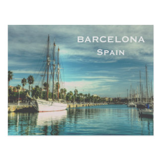Spain Vintage Travel Tourism Add Postcard