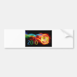 Spain World 2010 Champions Bumper Sticker