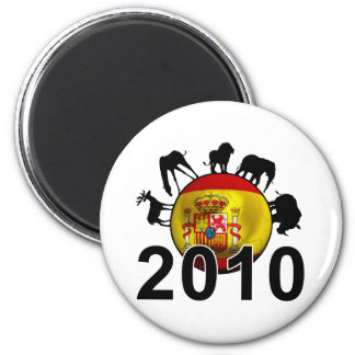 Spain World 2010 Magnet