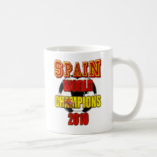 Spain World Champions 2010 Coffee Mug