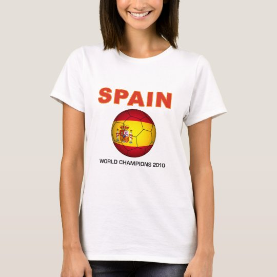 Spain World Cup 2010 Champion South Africa T-Shirt