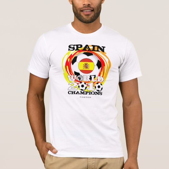 Spain World Cup 2010 Champions T-Shirt 1