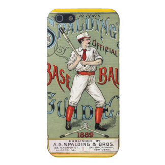Spaldings Official Baseball Guide 1889 Cover For iPhone 5/5S