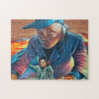 Spandina Culture Art Toronto. Jigsaw Puzzle
