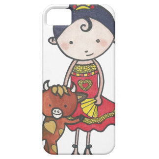 Spanie and castanet the bull calf case for the iPhone 5