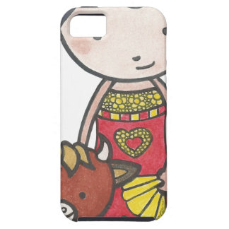 Spanie and castanet the bull calf iPhone 5 case