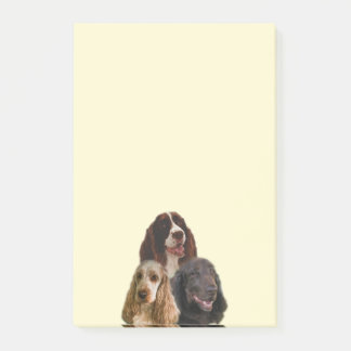 Spaniel Love - Post-It Notes
