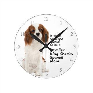 Spaniel Mom Clock